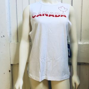 Under Armour Canada Sleevless Shirt